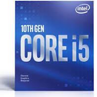 CPU INTEL LGA1200 CORE I5-10600 BOX BX8070110600
