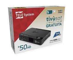 DECODER SATELLITARE HD TIVUSAT TELESYSTEM TS9018 HEVC